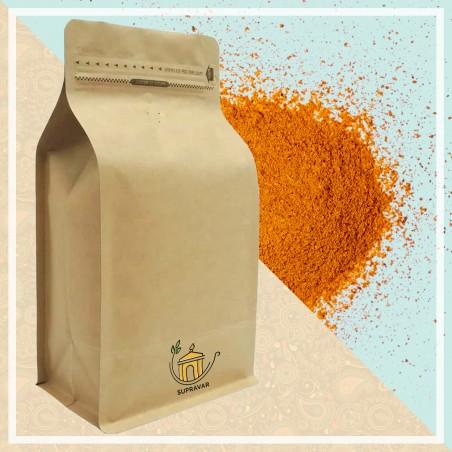 Powdered turmeric from Tamil Nadu