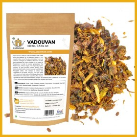 Vadouvan from Pondicherry zip bag from India