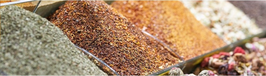 Fine spices and products to achieve the perfect cuisine